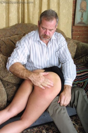 Real Spankings - A Lie Gets Cindy Spanked - image 12