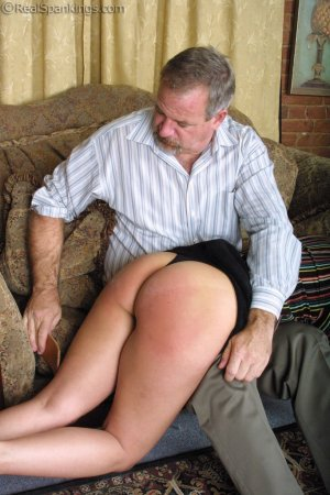 Real Spankings - A Lie Gets Cindy Spanked - image 13