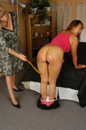 Real Spankings - More Punishment For Cindy - image 2