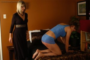 Real Spankings - Cassidy Is Spanked On All Fours - image 3