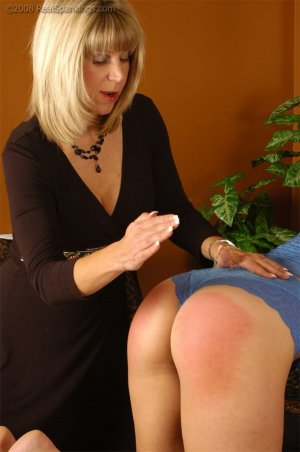 Real Spankings - Cassidy Is Spanked On All Fours - image 2
