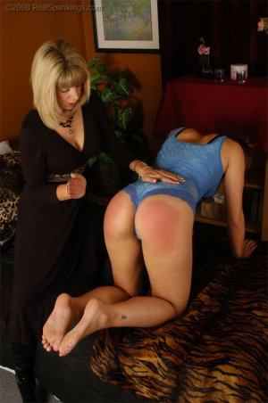 Real Spankings - Cassidy Is Spanked On All Fours - image 7
