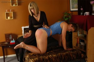 Real Spankings - Cassidy Is Spanked On All Fours - image 17
