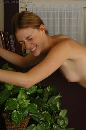 Real Spankings - Monica Is Caught Naked - image 3