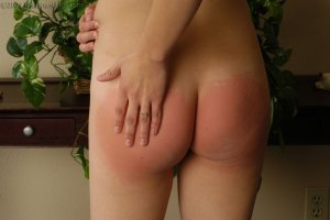 Real Spankings - Monica Is Caught Naked - image 15