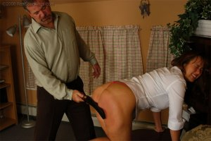 Real Spankings - Cindy Is Spanked On The Table - image 12