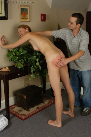 Real Spankings - Monica Is Caught Naked - image 12