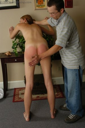 Real Spankings - Monica Is Caught Naked - image 13