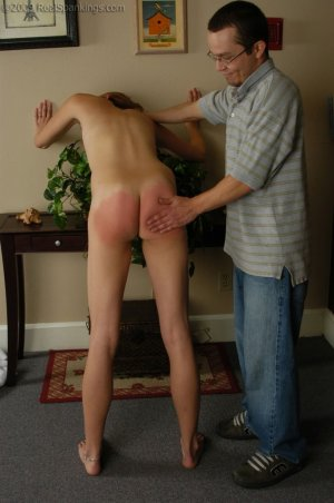 Real Spankings - Monica Is Caught Naked - image 17