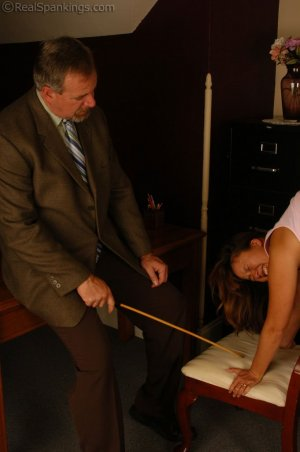 Real Spankings - Cindy's Office Discipline - image 8