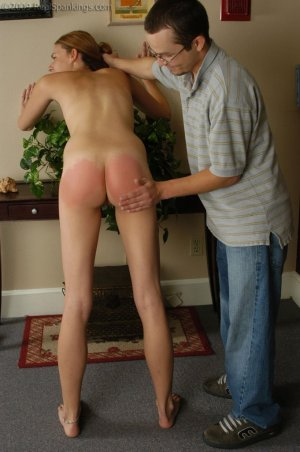 Real Spankings - Monica Is Caught Naked - image 18
