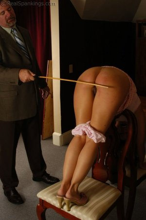 Real Spankings - Cindy's Office Discipline - image 13