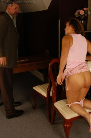 Real Spankings - Cindy's Office Discipline - image 6