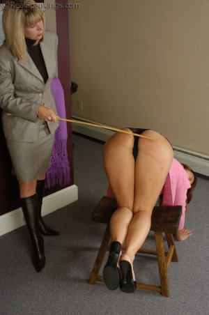 Real Spankings - Cindy Recieves Some Real Discipline - image 1
