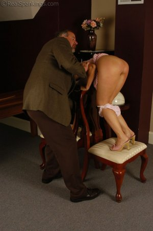 Real Spankings - Cindy's Office Discipline - image 12