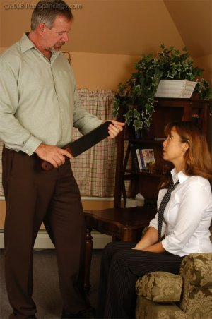 Real Spankings - Cindy Is Spanked On The Table - image 14