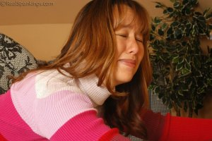 Real Spankings - Cindy Is Caught Not Working - image 1