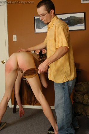 Real Spankings - Monica Is Spanked For Her Overspending - image 9