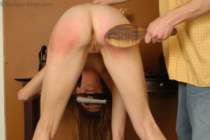 Real Spankings - Monica Is Spanked For Her Overspending - image 7