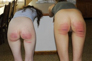 Real Spankings - The Girls Have Done Something Bad - image 4
