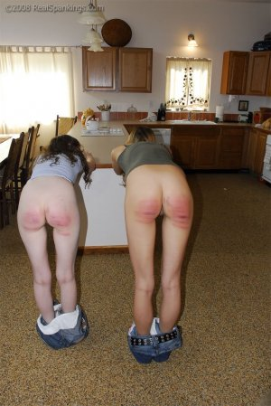 Real Spankings - The Girls Have Done Something Bad - image 2