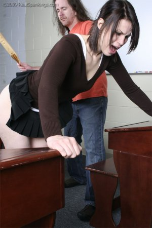 Real Spankings - Extreme School Paddling - image 1