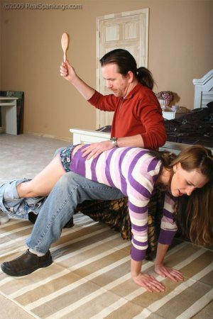 Real Spankings - Implement Series: Hair Brush - image 9