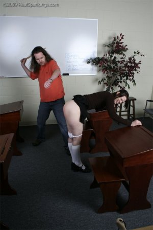 Real Spankings - Extreme School Paddling - image 16