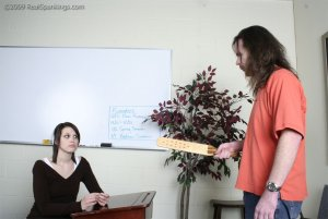 Real Spankings - Extreme School Paddling - image 14