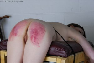 Real Spankings - Judicial Punishment: Monica Part 2 Of 3 - image 5