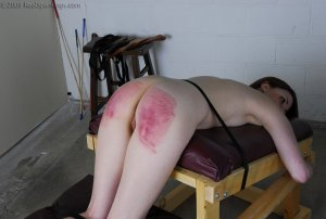 Real Spankings - Judicial Punishment: Monica Part 2 Of 3 - image 14