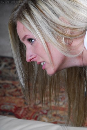 Real Spankings - Riley Caught Texting - image 8