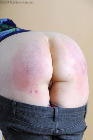Real Spankings - A Hairbrushing For Keagen - image 6