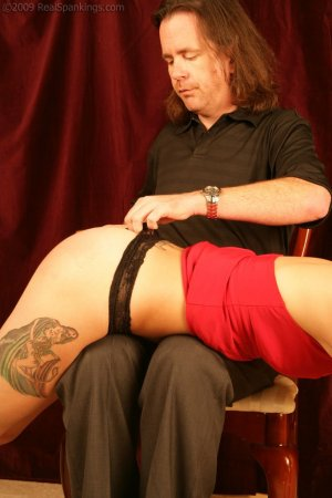 Real Spankings - Jade: Interview And Spanking Test - image 6