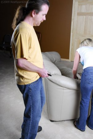 Real Spankings - Riley Caught Texting - image 7