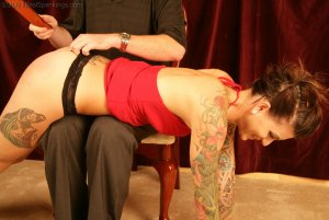 Real Spankings - Jade: Interview And Spanking Test - image 11