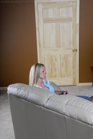 Real Spankings - Riley Caught Texting - image 3