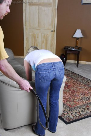 Real Spankings - Riley Caught Texting - image 12