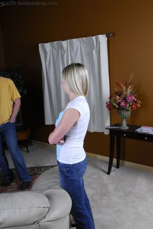 Real Spankings - Riley Caught Texting - image 14