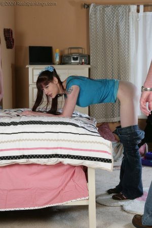 Real Spankings - Monica And Lila Caught Skipping School And Smoking (part 2 Of 2) - image 16