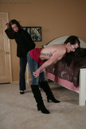 Real Spankings - Lexi's Bare Breasted Punishment - image 3