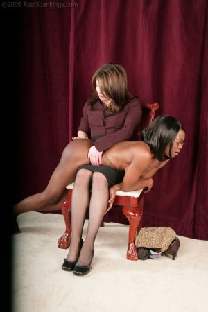 Real Spankings - New Model Chamille's Punishment Profile - image 11