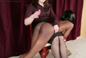 Real Spankings - New Model Chamille's Punishment Profile - image 1