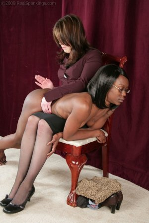 Real Spankings - New Model Chamille's Punishment Profile - image 13