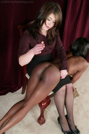Real Spankings - New Model Chamille's Punishment Profile - image 2