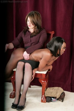 Real Spankings - New Model Chamille's Punishment Profile - image 18