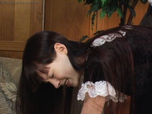 Real Spankings - Maid Caught Stealing - image 2