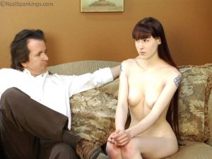 Real Spankings - Maid Caught Stealing - image 8