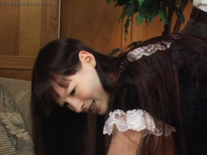 Real Spankings - Maid Caught Stealing - image 9