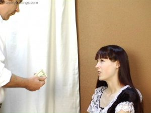 Real Spankings - Maid Caught Stealing - image 3